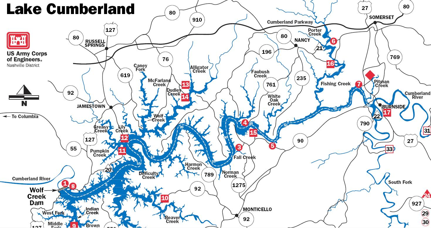 Norris Lake Tennessee Map.Norris Lake Archives Fishing Hunting And Campingfishing Hunting