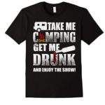 4 Funny Camping T-Shirts That Will Make Any Drinker Smile