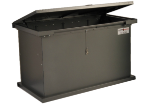TuffBoxx Grizzly raccon and bear proof gabage bin